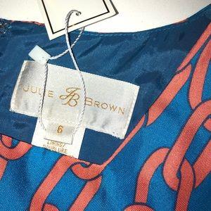 JB by Julie Brown Dresses - Julie brown jb chain links dress silk new 6 smith